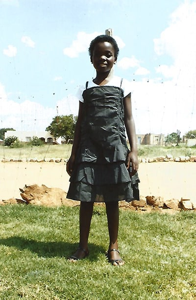 Young girl from Limpopo