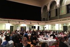 over 200 guests-full house