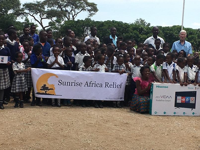 Presentation with children of Baralastone Park School