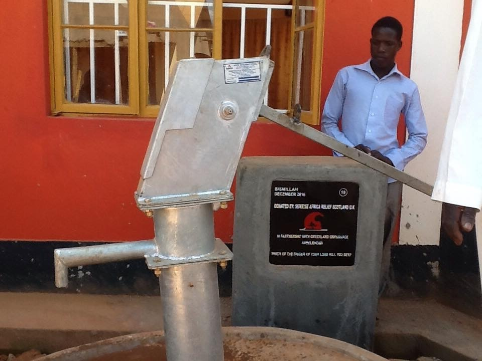 Borehole project completed