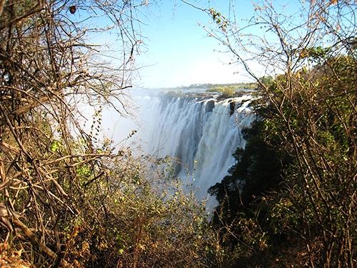 The grand Victoria Falls